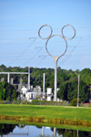 Photo of Mickey Mouse Shaped Power Line Celebration Florida