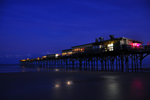 Photo of Sunglow Pier Night Stars Daytona Beach Florida