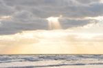 Free Photo of Inspirational Sun Rays Parting Clouds