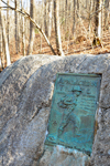 Photo of Appalachian Trail Plaque Unicoi Gap GA