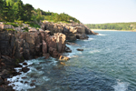 Free Photo of Cliffs South of Sand Beach Park Loop Road Acadia Maine