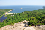 Free Photo of Sand Beach Beehive View Acadia National Park