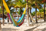 Free Photo of Colorful Mayan Hammock Cozumel Mexico