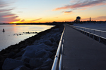 Free Photo of Ponce Inlet Beach Sunset Jetty Florida