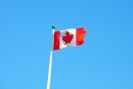 Photo of Canadian Flag Flying