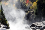 Free Photo of Canyon Ste-Anne Waterfall Mist Beaupre Quebec
