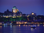 Free Photo of Chateau Frontenac Castle and Hotel Night Quebec City Canada