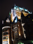 Photo of Chateau Frontenac Castle Lit Up At Night