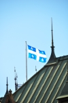 Photo of Fleur de Lis Province of Quebec Flag