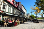 Free Photo of Lunch Vieux Quebec City Street Canada