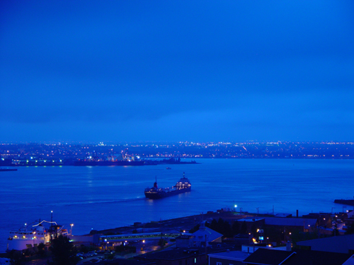 Free Picture: Photo of Port of Quebec City and its shipping industries.