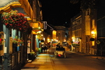Photo of Rue St. Louis Horse Drawn Carriage Night Quebec City