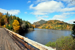 Photo of Tar Bridge Jacques Cartier National Park Quebec