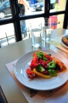 Free Photo of Vegan Pizza at Pizzeria D'Youville Quebec Canada