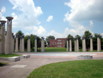 Free Photo of Circle of Columns with Bells Bicentennial Mall State Park