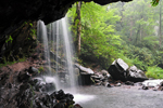 Photo of Grotto Falls Tennessee Great Smoky Mountain National Park