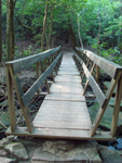 Photo of Old Wooden Bridge Fall Creek Falls Tennessee